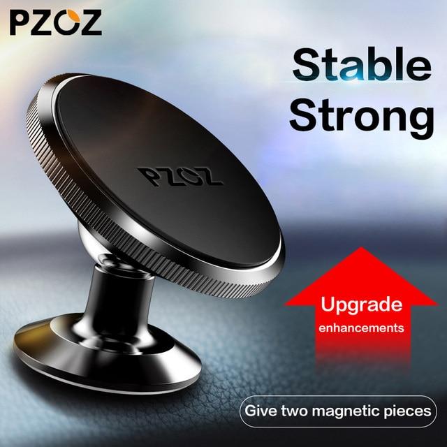 PZOZ support de téléphone magnétique pour voiture smartphone universel dans la cellule de voiture support pour téléphone Mobile support de montage magnétique support pour un plus 6