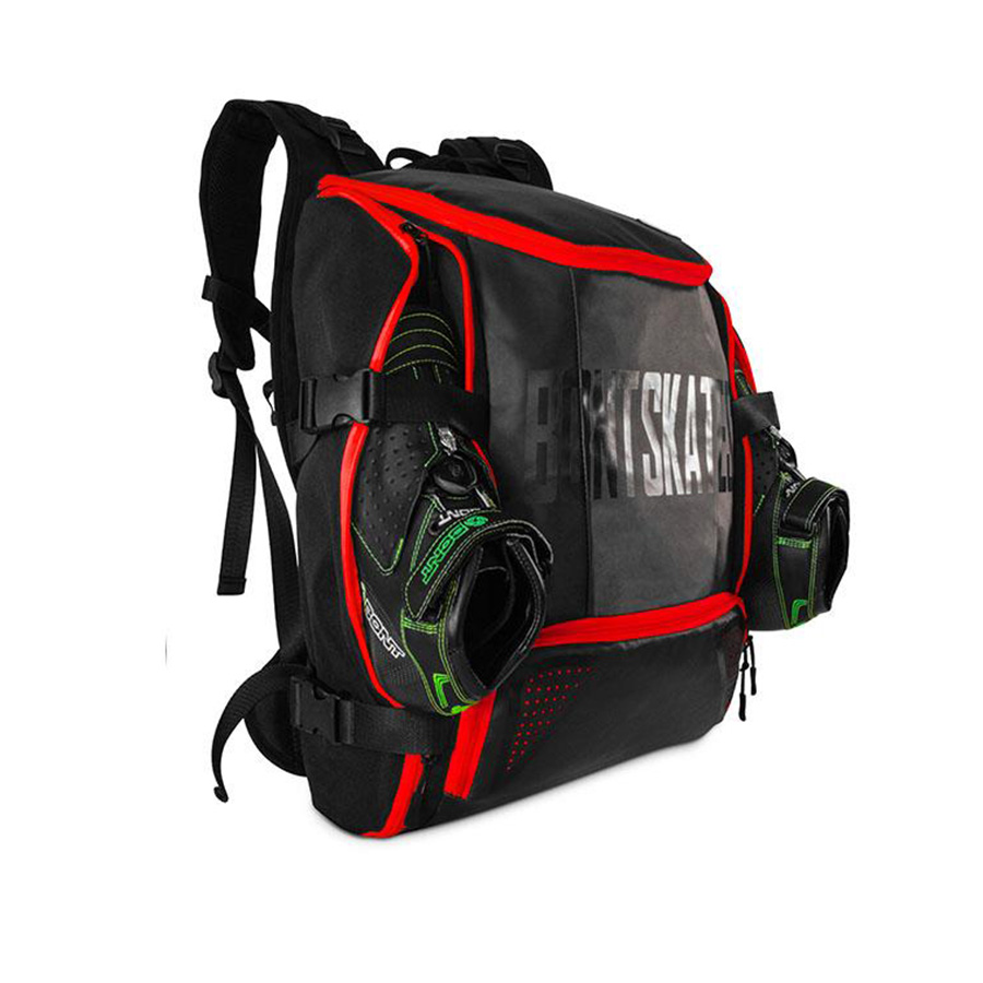 все цены на 28L 100% Original Bont Inline Speed Skates Backpack Professional Roller Skating Shoes Bag Helmet Holder Protective Knee Pads Bag онлайн