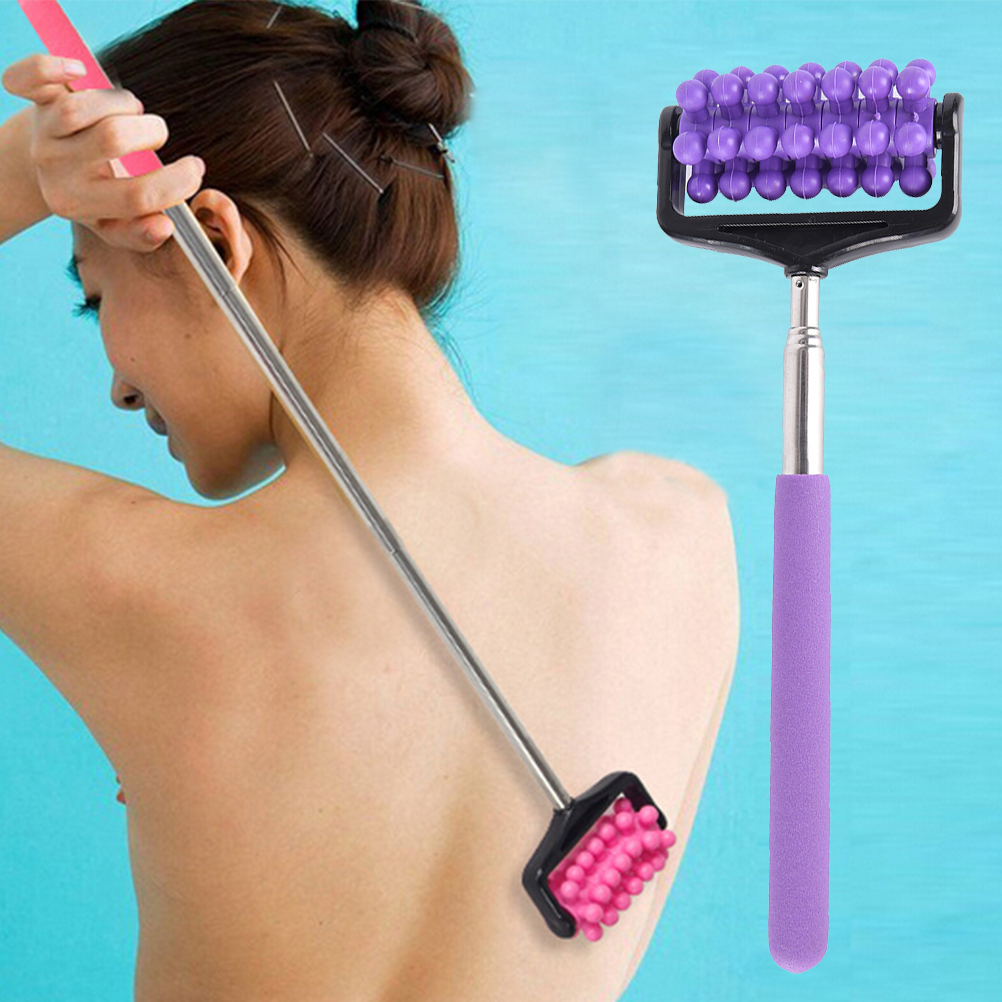 Back Scratcher Telescopic Massage Case Adjustable Handy Stainless Steel Pen Clip Pocket Scratching Kit Dragon Claw 21-58cm