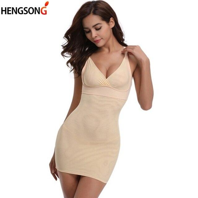 d60ceb6d2d Women Body Shaper Sexy Full Body Shaping Underwear Bodysuit Dress  Bodyshapers Tummy Control Women Shapewear Plus Size 4XL-in Bodysuits from  Underwear ...