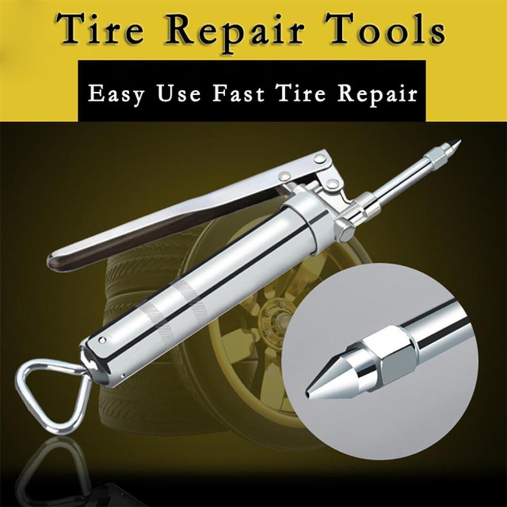 Автомобильный комплект для ремонта шин аварийный вакуумный шиномонтажный инструмент для быстрого ремонта внутренней резиновой ленты склеивание багажника Мотоцикл Портативный велосипед шинный инструмент