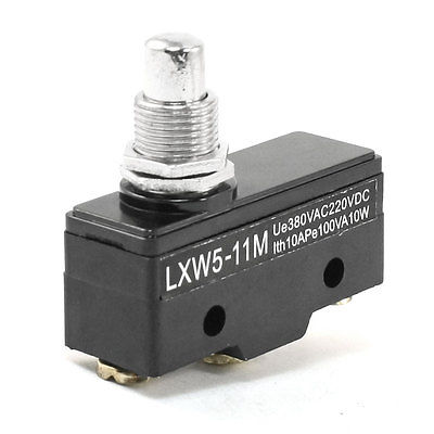 LXW5-11M 3 Screw Terminals Panel Mount Roller Plunger Basic Limit Switch 660v ui 10a ith 8 terminals rotary cam universal changeover combination switch