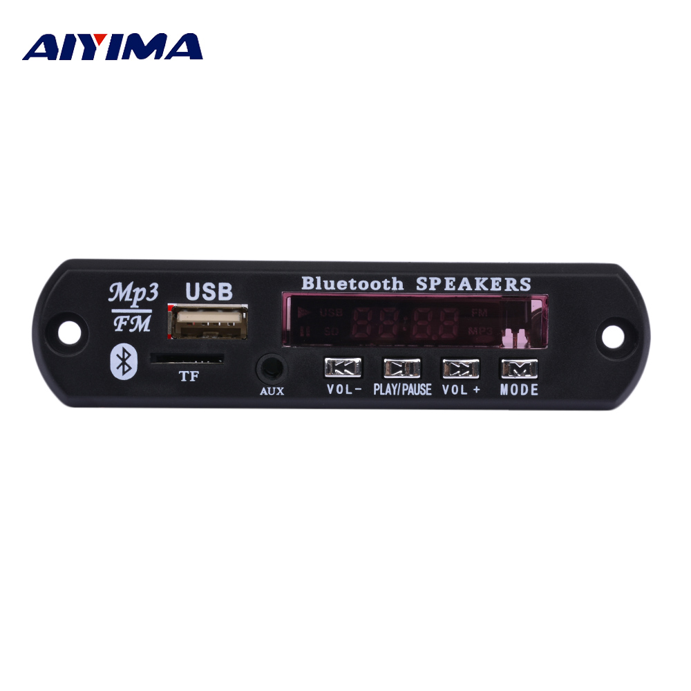 AIYIMA Bluetooth MP3 Music Player Decoder Board Decoding DIY For Amplifiers Audio Board Home Theater