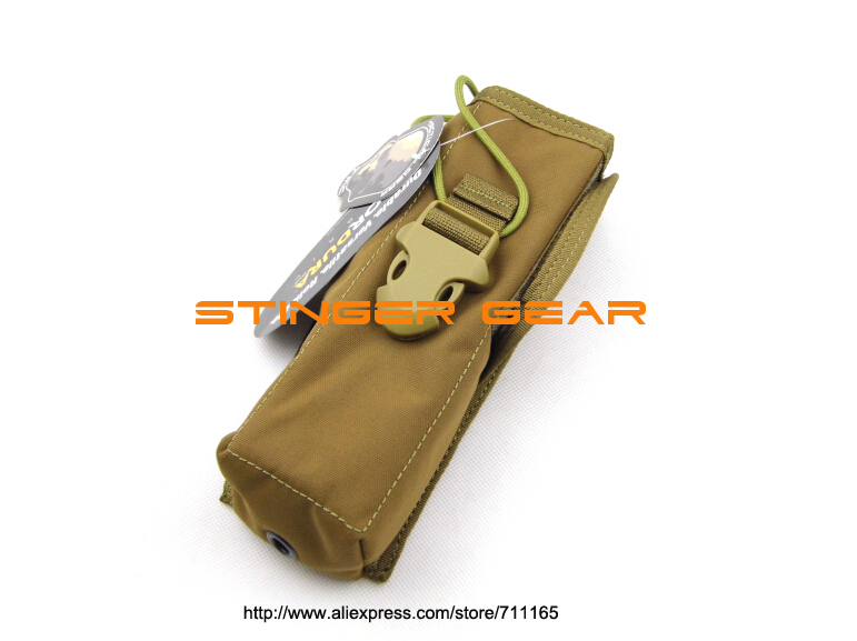 TMC MOLLE PRC148 Radio Pouch Coyote Brown Padded Cordura MOLLE Pouch+Free shipping(SKU12050551)