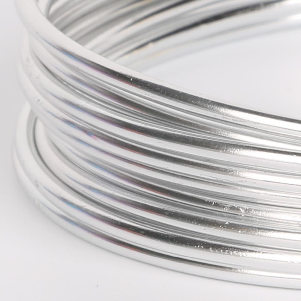 Best Selling different colors 3m 10gauge(2.5mm) Aluminum wire Soft ...