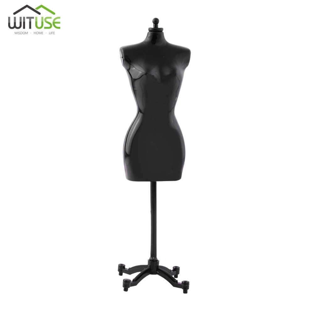 Doll Display Holder Dress Clothes Mannequin Model Stand For Doll Black Ne L2Y1