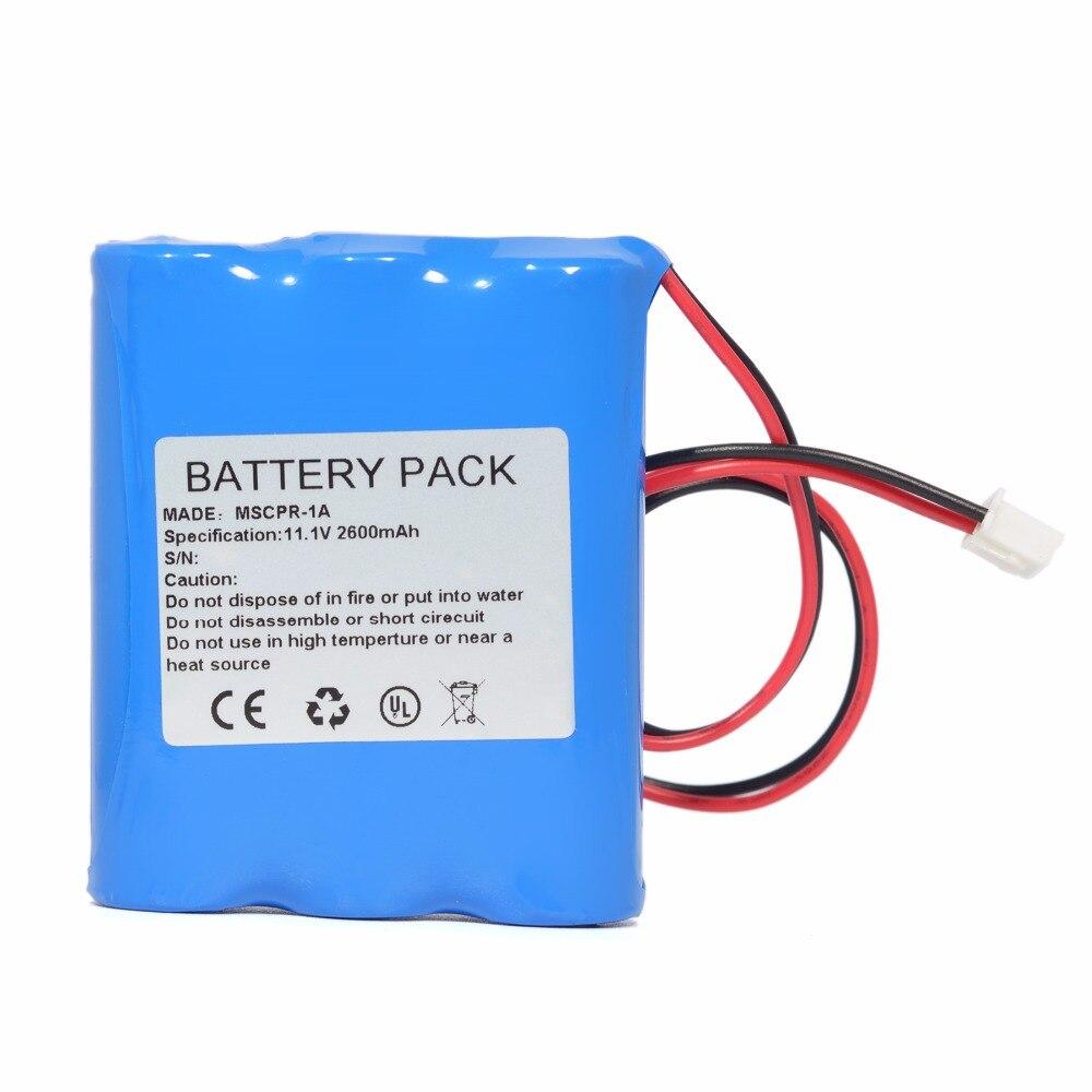 High Quality For Medsonic MSCPR-1A Battery   Replacement For Medsonic MSCPR-1A Pulmonary Function Tester Battery