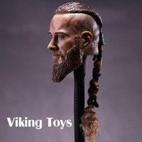 Viking Speelgoed Vikings 1/6 Soldaat Hoofd Gesneden voor Oude Militaire Model