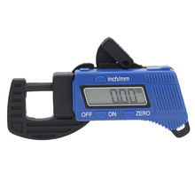Sale New 0-12.7mm/0.5 Inch Carbon Fiber Composites Digital Thickness Caliper Micrometer Guage Tools