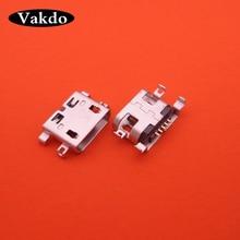 100 stücke micro mini usb jack buchse connector aufladen port ersatz reparatur teile für THL W200 W200s W 100 W 100 s V12 V7 W7 T3 T2