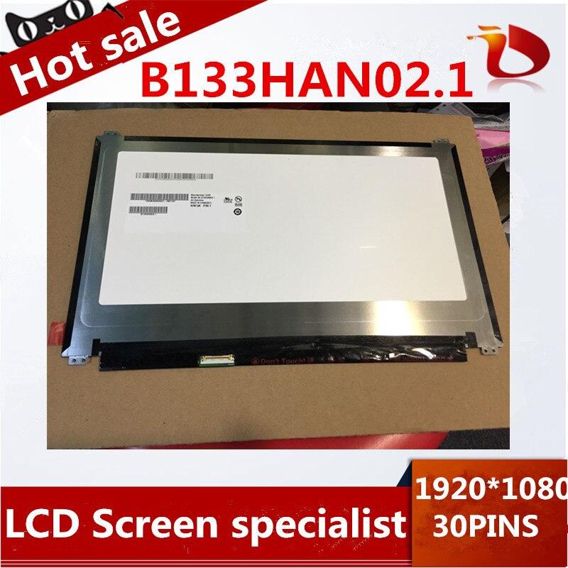 LAPTOP LCD SCREEN FOR ASUS UX305 UX305FA UX305CA UX305LA B133HAN02.1 Moniter Display Replacement Matrix