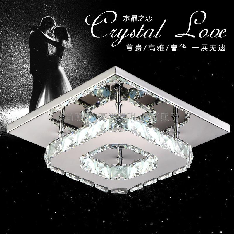 Bathroom Ceiling Lights Crystal Square online buy wholesale bathroom ceiling lamp square from china
