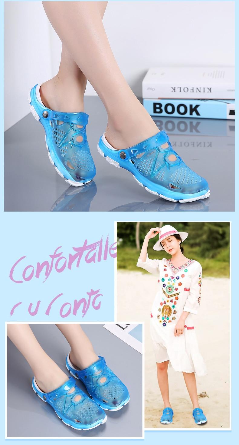 HTB1n3loQNTpK1RjSZR0q6zEwXXaF Women Sandals Summer Slippers 2019 New Women Outdoor Beach Casual Shoes Cheap Female Sandals Water Shoes Sandalia women