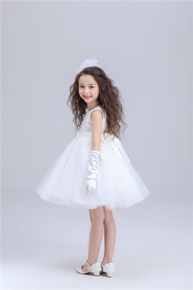 Sequin Pageant White Girl 13