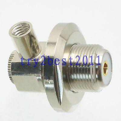 1pce Connector UHF SO239 jack pin nut solder RG58 RG142 LMR195 RG400 Right angle asus pce n15 300мбит с