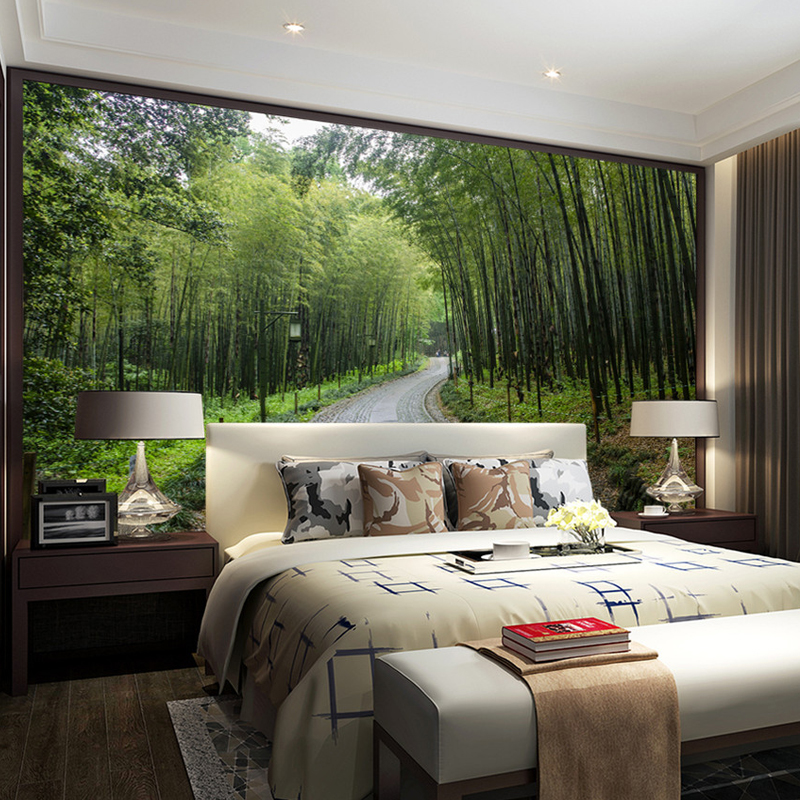 3d Photo Wallpaper Bamboo Forest Jungle Landscape