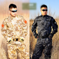 High Quality Men CS Camouflage Camo Military Uniform Army SWAT Equipment Tactical Combat Suit jacket Pants Hunting Clothes HOT!