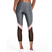 2017 Fitness Yoga Leggings For Female Patchwork Mesh ropa deportiva mujer gym Running Tights Sport Trousers Jogging Femme