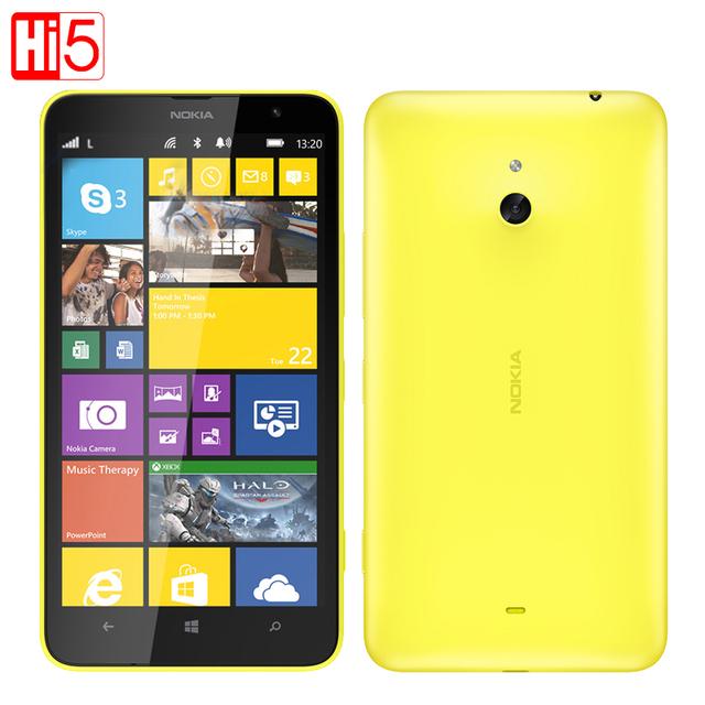 """Lumia 1320 nokia mobile teléfono windows 8.1 teléfonos móviles dual core 8g rom 3g 6.0 """"GPS WIFI Desbloqueado 1080 P Envío Gratis"""