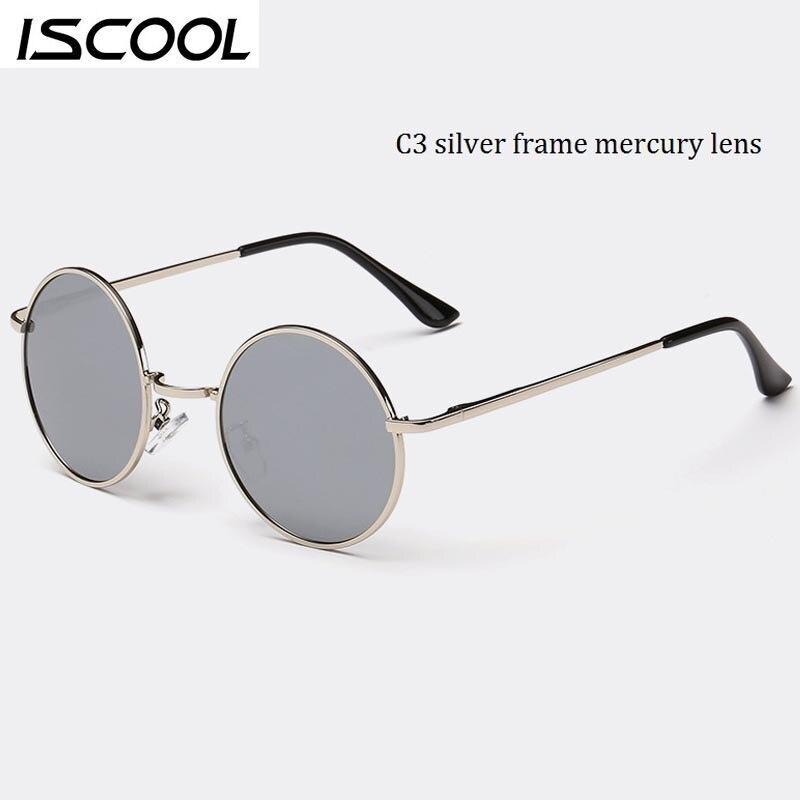 John Lennon Classic Round Polarized Sunglasses Men Vintage Metal ...