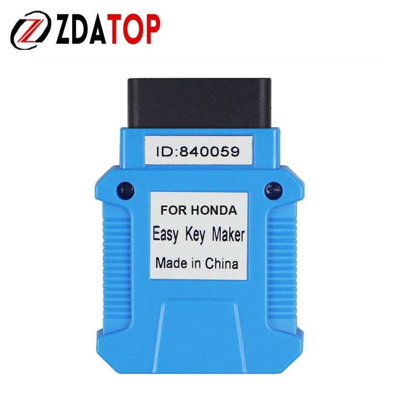 Newest For Honda Easy Key Maker Key Programmer Registering Key By OBDII Easy Key Maker Quick