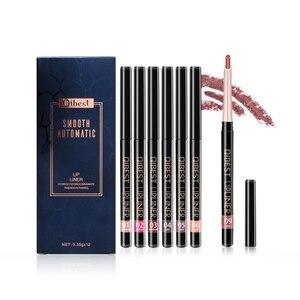 12PCS Velvet Matte Lip Liner S