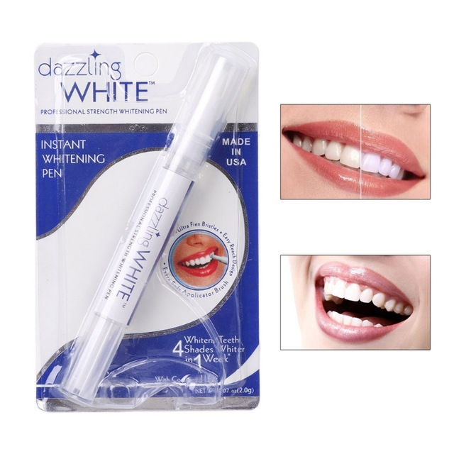 Hot Creative Effective Teeth Whitening Pen Tooth Gel Whitener Bleach Stain Eraser Sexy Celebrity Smile Teeth Care Drop-shipping