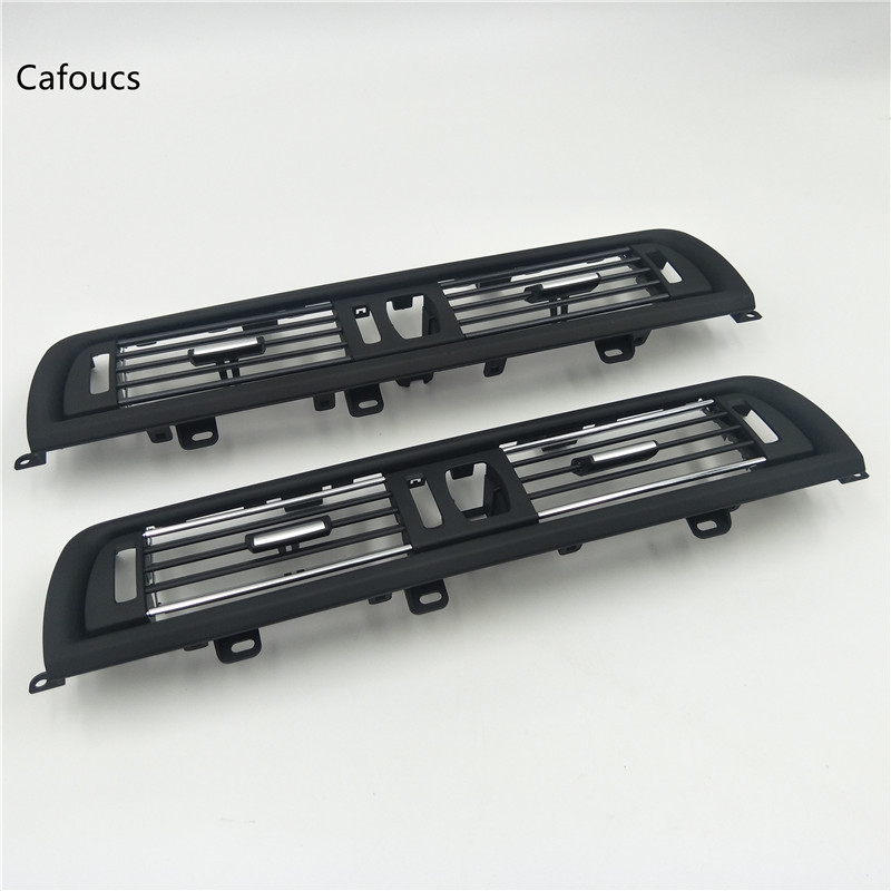 Cafoucs 2 Styles Front Console Grill Dash AC Air Conditioner Vent For BMW F10 F11 F18 520i 523i 525i 528i 535i 64229166885Cafoucs 2 Styles Front Console Grill Dash AC Air Conditioner Vent For BMW F10 F11 F18 520i 523i 525i 528i 535i 64229166885
