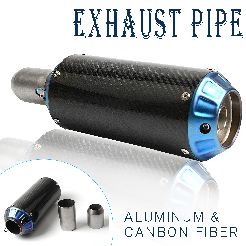 Universal 36-51MM Motorcycle <font><b>Exhaust</b></font> Pipe Modified <font><b>Exhaust</b></font> Pipe for YAMAHA <font><b>XT660</b></font>/X/R/Z <font><b>XT660</b></font> R/X TW125 DT125R XT600 E THRUXTON image