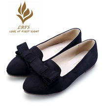 2017 Spring Autumn  Beautiful Classic Women Shoes Butterfly-knot Comfortable Flat