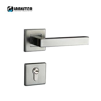 Professional Door Lock Factory Wholesale Stainless Steel Locks Room Door Split Lock Modern Wire Drawing Door-locks