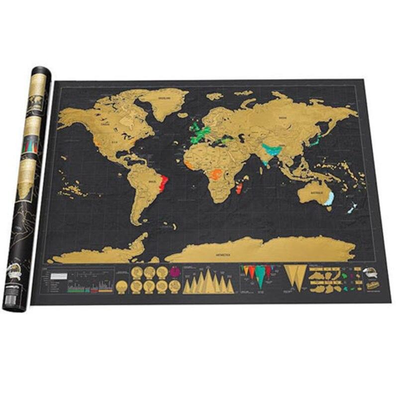 Mapa do Mundo P10 Nova Edição Deluxe Viagens