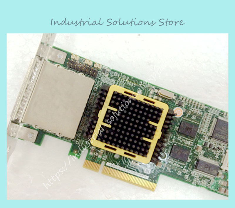 ASR-5085/512MB SGL PCI-e X8 RAID array card card 100% tested perfect quality 375 3536 sas raid with battery array card pci e sas card 100% test good quality