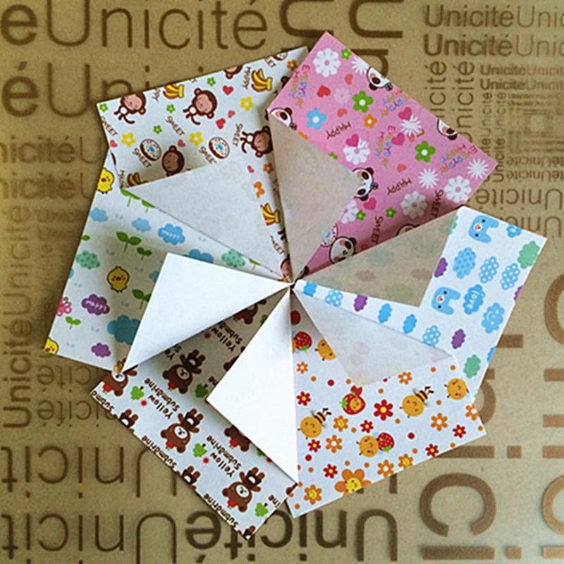 aliexpress com buy colored cartoon origami paper folding