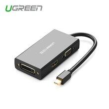 Ugreen Thunderbolt Mini Displayport zu HDMI/VGA/DVI Adapter Konverter Kabel Für Apple MacBook Air Pro 4K mini displayport auf VGA