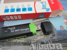 Fast Speed 3G WIFI  Dongle Stick IEEE 802.11b/g/n Wi-Fi Modem support up 8 devices