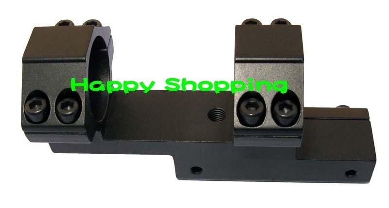 30 мм двойное кольцо с двойным отверстием фонарик с креплением на 20 мм weaver rail