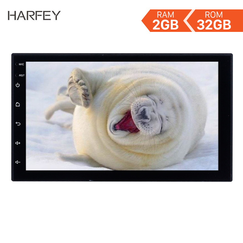 Harfey Android 8 1 7 Car Multimedia Player RAM 2GB ROM 32GB 2Din Universal Radio GPS