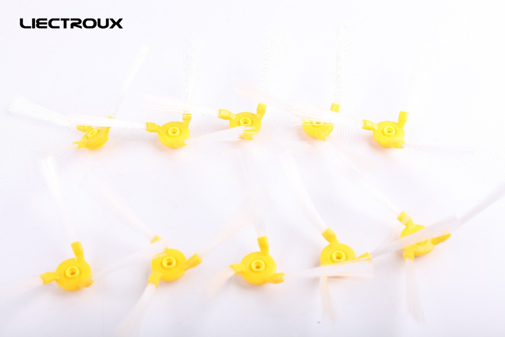 (For A320,A325,A335,A336,A337,A338) Robot Vacuum Cleaner Side Brush, 10pcs/ pack, Cleaning Tool Replacement Parts for cleaner a320 a325 a330 a335 a336 a337 a338 spare part for robot vacuum cleaner adapter charger