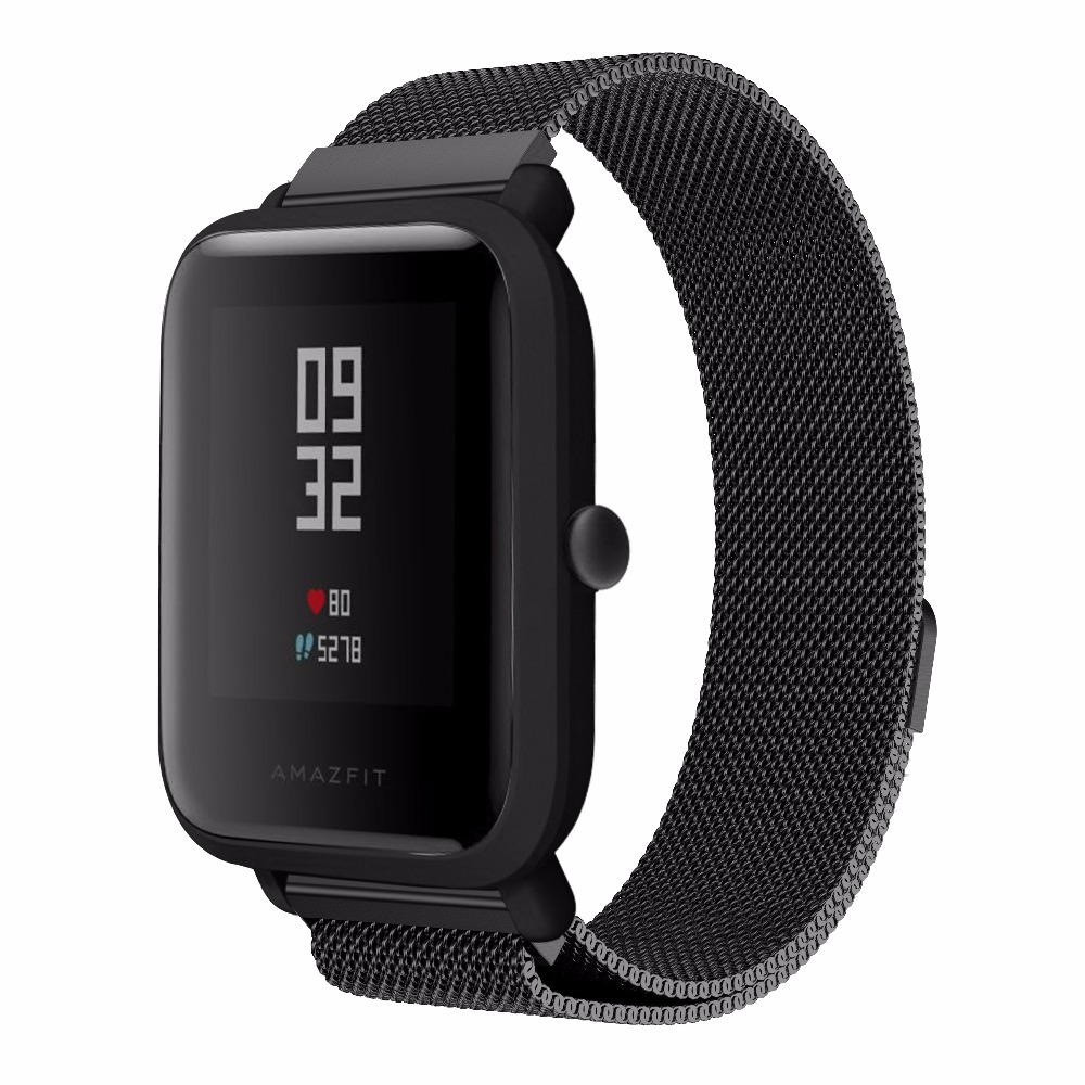 20mm-Milanese-Loop-Magnetic-Stainless-Steel-Watch-Band-for-Xiaomi-Huami-Amazfit-Youth-bit-Smart-Watchband (1)