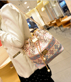 Высокое качество Женщин сумка 2016 Новая женская сумка Сладкий девушки перл подвеска износ каната цепи мешок/Национальных ветер/Ведро насосное рот мешки