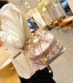 De alta calidad de Las Mujeres bolso de 2016 Nuevo bolso femenino Dulce niña bolsa de la cadena colgante de perlas de cuerda desgaste/viento Nacional/Cubeta de bombeo boca bolsas