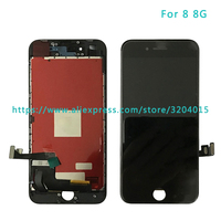 5pcs Lot High Quality LCD Display Screen With Touch Screen Digitizer Assembly For Iphone 8 8G