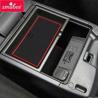 BN smabee Brama gniazdo pad Dla Mazda 3 Maxx Serii Auto 2014-2016 Samochodów Wykończanie Wnętrz antypoślizgowe drzwi Groove Mat 14 SZTUK