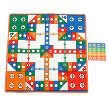 Ludo Chess Flying Airplane Carpet Play Mat Kids Develop Intelligence Games Entertainment fun for Family and Party(China)