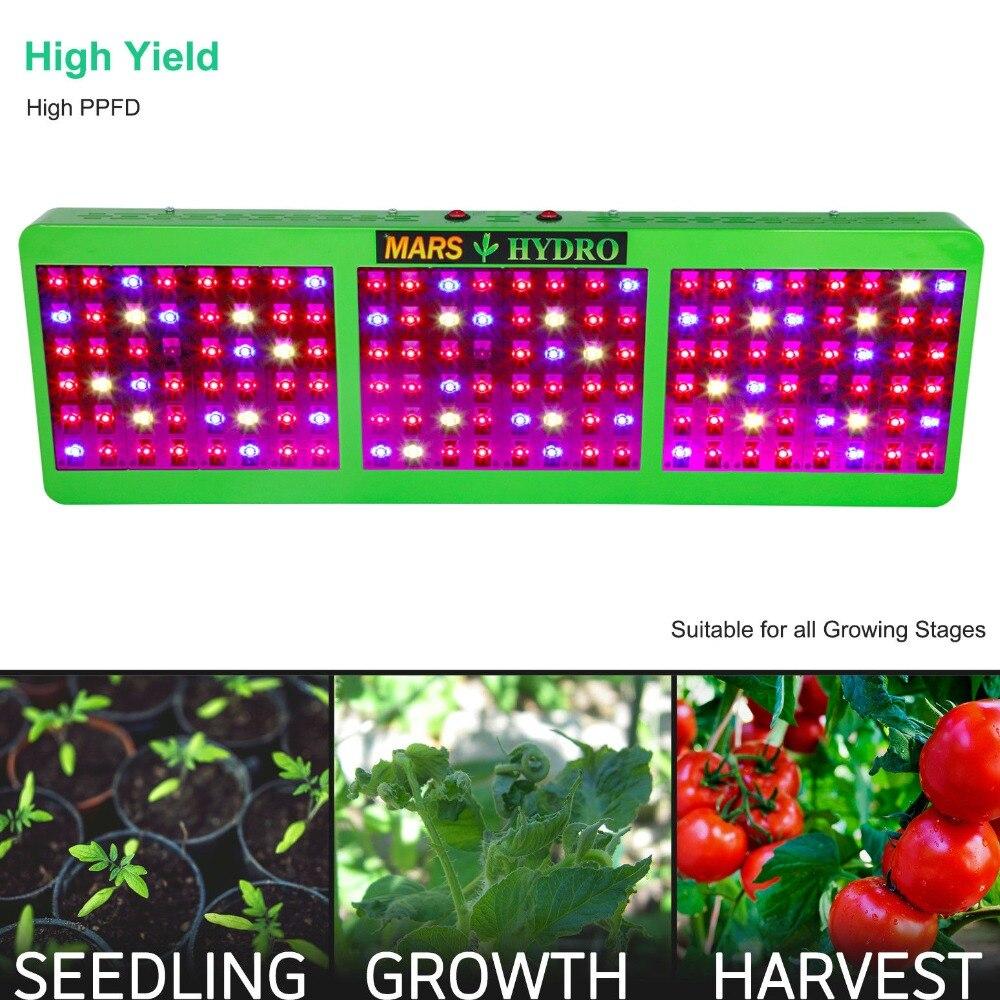 Led Grow Light Mars Hydro Reflector 800W Plant Light Grow Light for - Професионално осветление - Снимка 2