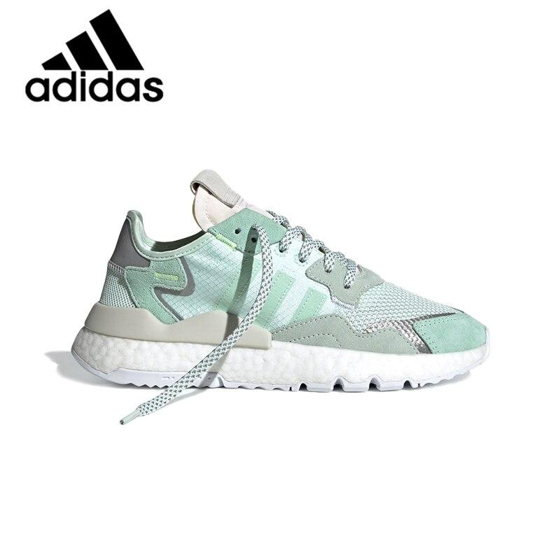 Véritable Adidas Nite survêtement unisexe course chaussures de sport réfléchissantes baskets hommes femmes chaussures de plein air 2019 nouveau F33837