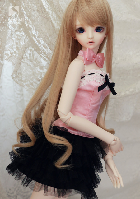 1/3 BJD/SD кукла одежда/мода Кружева Завесу Установить платье для Bjd Куклы аксессуары для одежды