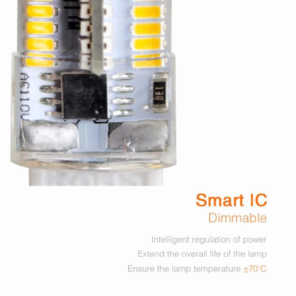 G8 G9 LED Diode Chandelier Lamp Cob LED G4 Bulb 110V 220V SMD 3014 Chip High Lumen No Flicker Dimmable Mini Corn Bulb