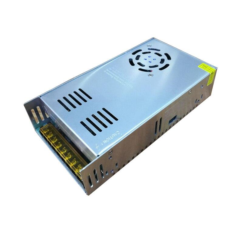 Entrée 110-240 V sortie 24 V 15A LED transformateur d'alimentation à l'intérieur avec ventilateurs pour bande de LED